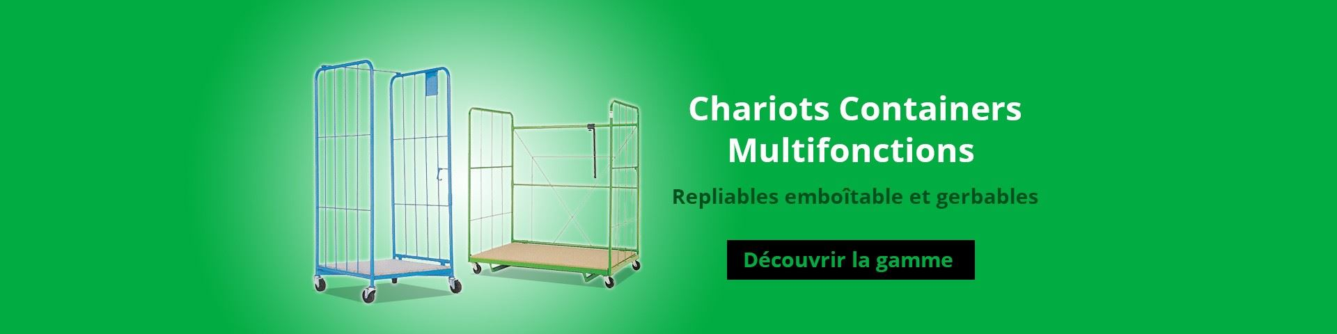 Chariots Containers Multifonctions